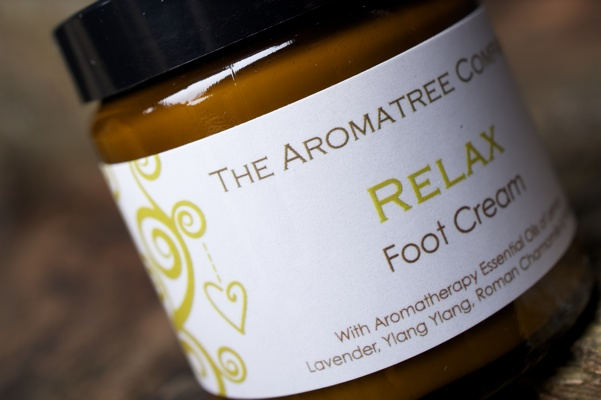 Relax Foot Cream - Available in 120ml and 30ml jars