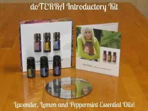 Introductory Essential Oils kit.