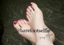 #barefootselfie