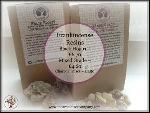Frankincense Resins