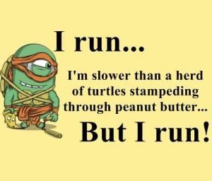 Minion running